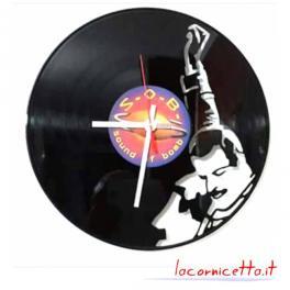 Freddie Mercury orlogio da parete clock vinile