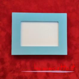 Portafoto da tavolo in legno molteplici colori misura interna per foto 10x15