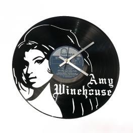 Amy Winehouse disco in vinile orologio da parete top art
