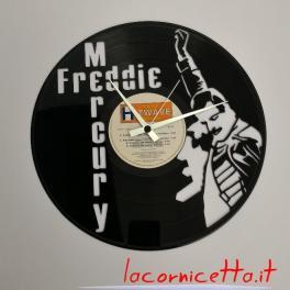 Freddie Mercury vinile disco orologio parete arredamento topart