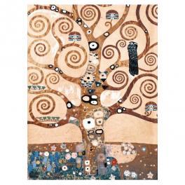 L'albero della vita di Gustav Klimt opera realizzata su tela