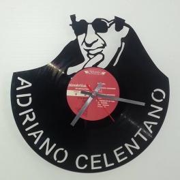 Disco orologio parete in vinile Adriano Celentano cantautore, ballerino, attore