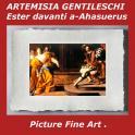 ARTEMISIA GENTILESCHI Ester davanti a-Ahasuerus picture fine top art