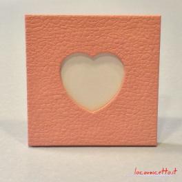 Portafoto unici lavorazione cuore muro artigianale idea regalo