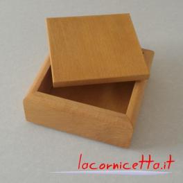 Bomboniere scrigno scatoline quadrate multiuso vari colori
