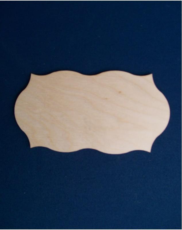 Base ondulata placca 7x14 cm