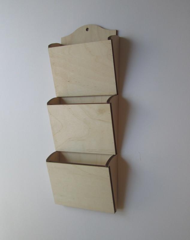 Porta Posta 3 Tasche Portaposta 18x49