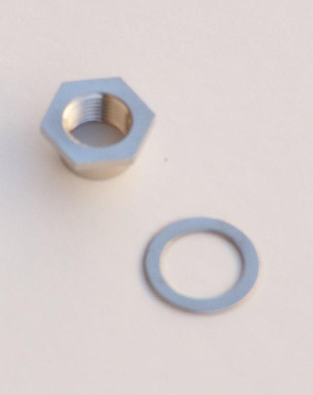 Accessorio ghiera boccola ancoraggio movimento al quadrante in acciaio nichel