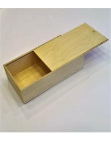 Portabottiglie chiusura con pannello scorrevole misura esterna Scatola 32x18 h 10 cm