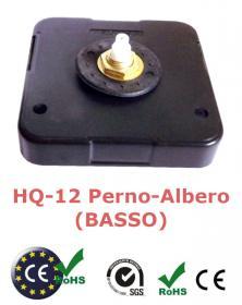 Orologio HQ-12 movimento con meccanica al quarzo da parete o tavolo arti creative hobby. Solo Meccanica