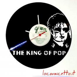 Michael Joseph Jackson orologio parete disco in vinile 33 giri vinyl disc clock