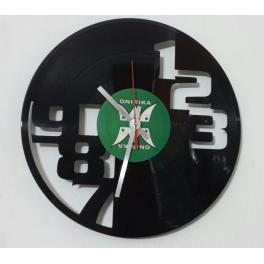 Orologio numeri 123 disco vinile orologio parete design arredo top