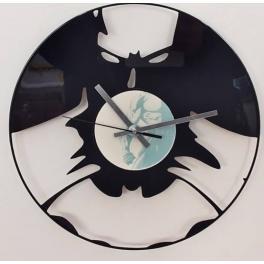 Batman disco orologio in vinile top Clock Vinyl da parete realizzato a mano