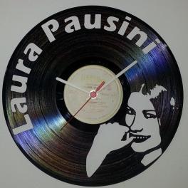 Pausini Laura disco in vinile 33 giri top Clock Vinyl orologio da parete